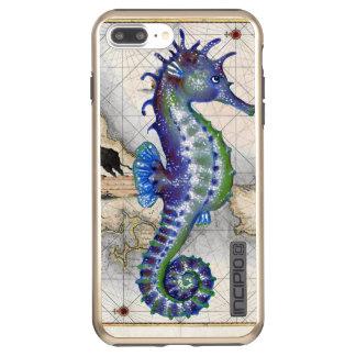 Seahorse Map Gibraltar Incipio DualPro Shine iPhone 8 Plus/7 Plus Case