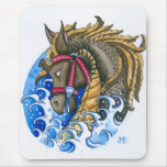 seahorse mouse pad