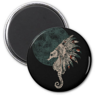 seahorse native night magnet