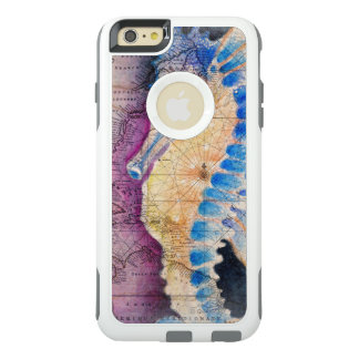 Seahorse old map OtterBox iPhone 6/6s plus case