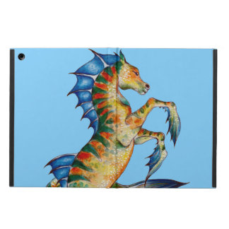 Seahorse On Blue Cover For iPad Air