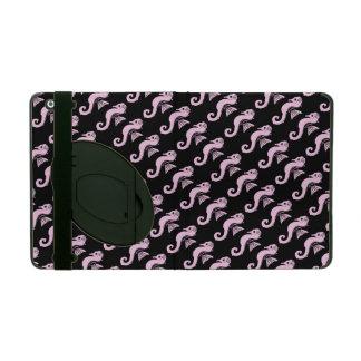 seahorse pink iPad folio case