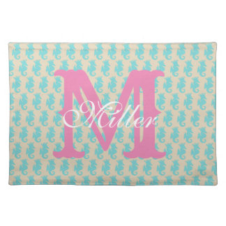 Seahorse Placemats Personalize
