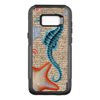 Seahorse Shabby OtterBox Commuter Samsung Galaxy S8+ Case