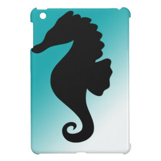 Seahorse Silhoutte Fresh and Natural iPad Mini Covers