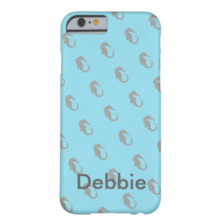 Seahorse Theme Personalized Cell Phone Cover Case