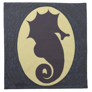 Seahorse Themed Napkin
