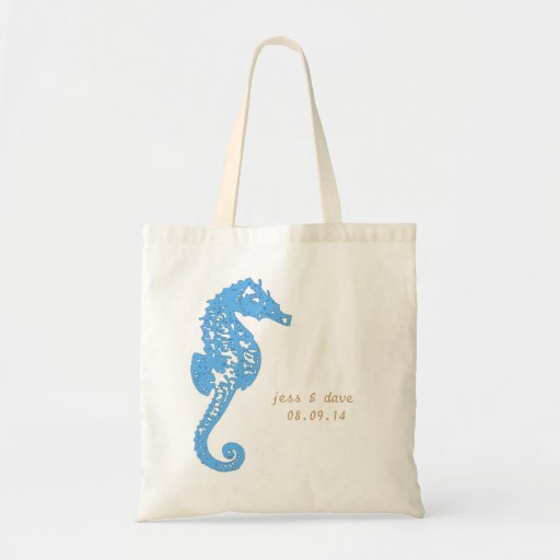 Seahorse Totes, Destination Wedding (Sample Shown) Bags