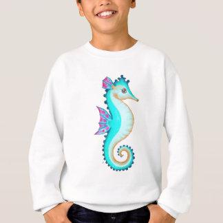 Seahorse Turquoise Sweatshirt