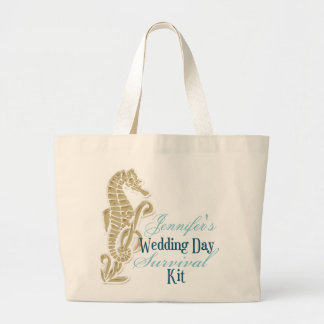 Seahorse Wedding Day Survival Kit Bag