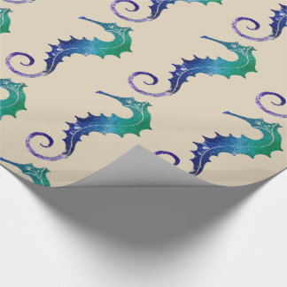 Seahorse Wrapping Paper