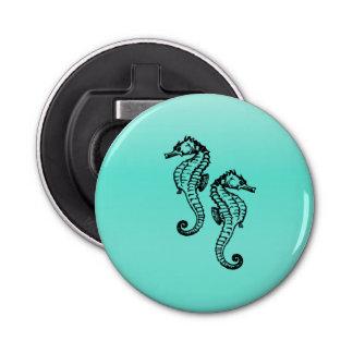 Seahorses Aqua Bottle Opener