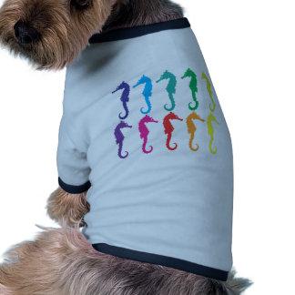 Seahorses Dog Tee