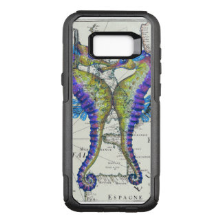 Seahorses Love Map OtterBox Commuter Samsung Galaxy S8+ Case