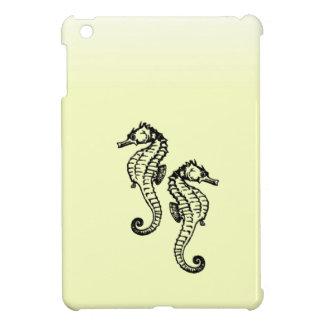 Seahorses Yellow Cover For The iPad Mini