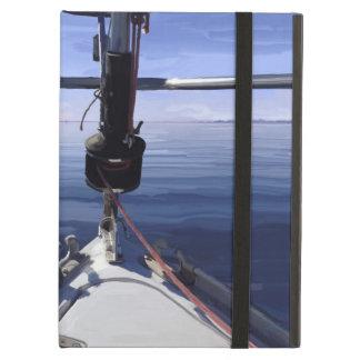 """Seaking the Horizon"" Sail Boat Case For iPad Air"