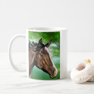 Seal Bay Thoroughbred Horse Coffee Mug