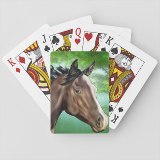 Seal Bay Thoroughbred Horse Poker Deck