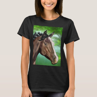Seal Bay Thoroughbred Horse T-Shirt