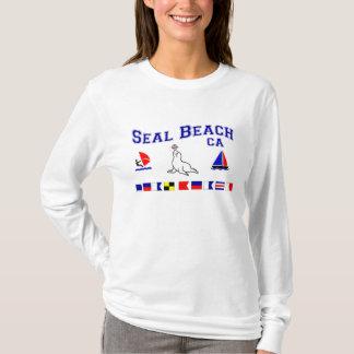 Seal Beach CA Signal Flags T-Shirt