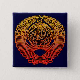 Seal (CCCP) 15 Cm Square Badge
