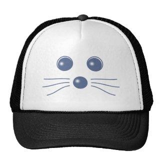 Seal face seal face trucker hat