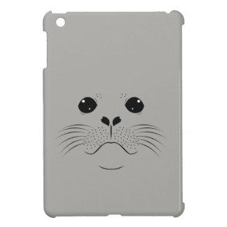 Seal face silhouette iPad mini cases