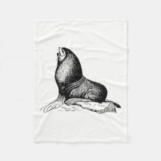 Seal Fleece Blanket