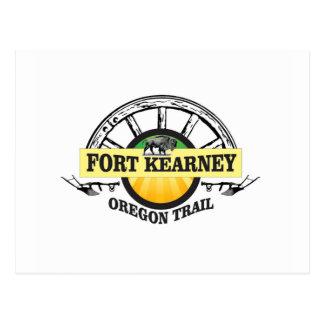 seal fort kearney postcard