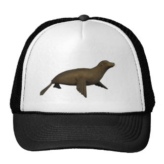 seal trucker hat