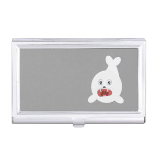 Seal is crying Zr2rw Business Card Holder
