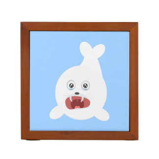 Seal is crying Zr2rw Desk Organiser