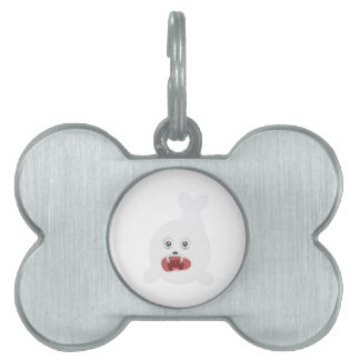 Seal is crying Zr2rw Pet Name Tag