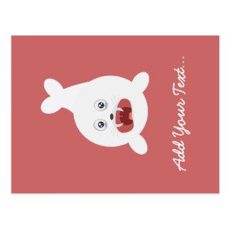 Seal is crying Zr2rw Postcard