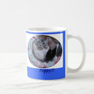 Seal  Lynx Mitted Ragdoll Cat, Poppy!!! Coffee Mug