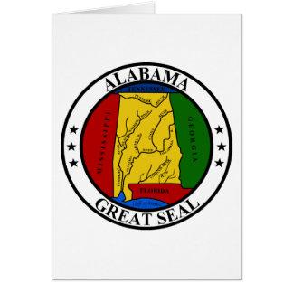 Seal of Alabama Greeting Card