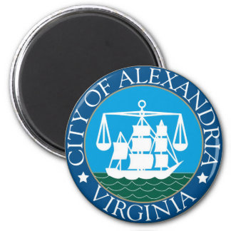 Seal of Alexandria, Virginia Magnet