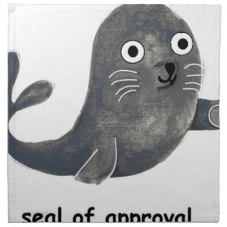 Seal of Approval Napkin