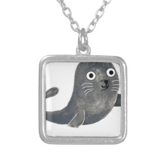 Seal of Approval Silver Plated Necklace