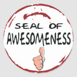 Seal Of Approval Stickers - Awesomeness