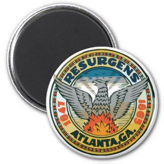 Seal of Atlanta, Georgia 6 Cm Round Magnet