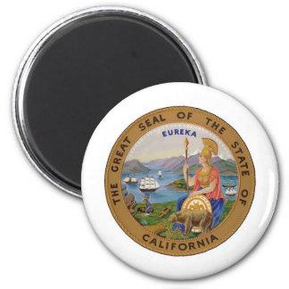 Seal of California Refrigerator Magnets