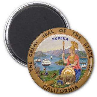 Seal of California Refrigerator Magnet