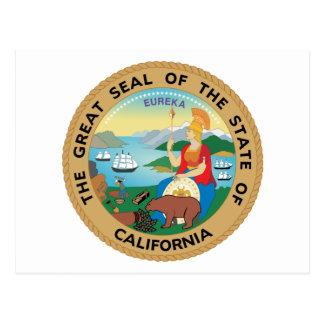 Seal of California Postcard
