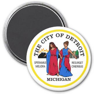 Seal of Detroit, Michigan Magnet