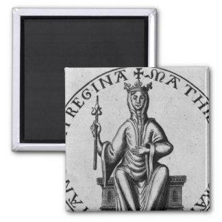 Seal of Empress Matilda Fridge Magnet