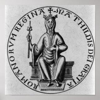 Seal of Empress Matilda Poster