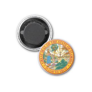 Seal of Florida Refrigerator Magnet