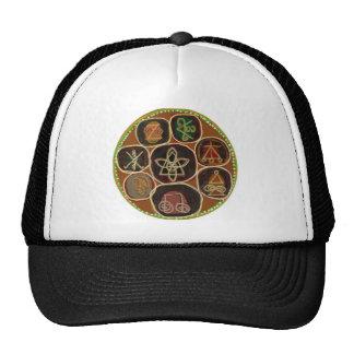 SEAL of HEAL :  Karuna Reiki Emblem Mesh Hat