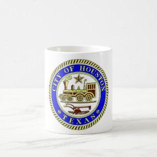 Seal of Houston Basic White Mug